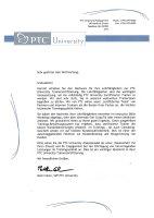 PTC Univerity Trainer