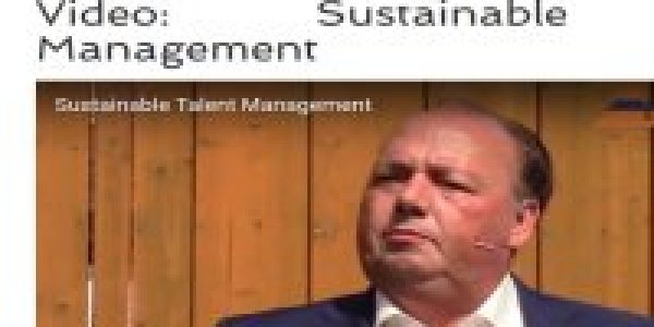 Video: Sustainable Talent Management
